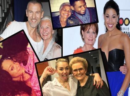 Znane gwiazdy ze swoimi babciami!