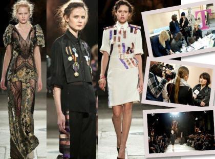 Zobacz, co Gosia Baczyńska zaprezentowała na Paris Fashion Week [video]