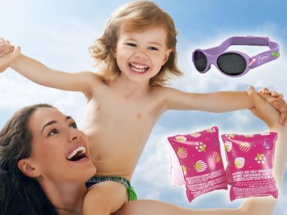 Zobacz, co musisz mieć na plaży z dzieckiem!