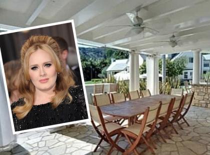 Zobacz, jak mieszkała Adele!