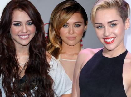 Zobacz jak zmieniała się Miley Cyrus!