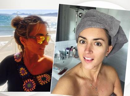 Zobacz, jakich 4 produktów używa 41-letnia Karolina Szostak, że jej skóra wygląda tak: