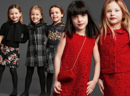 Zobacz kolekcję dziecięcą Dolce&Gabbana na zimę 2014!