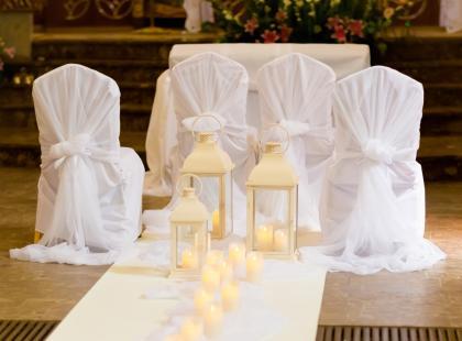Zobacz najpiękniejsze dekoracje ślubne kościoła!