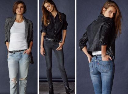 Zobacz nowe modele dżinsów w jesiennej kolekcji Levi's