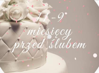 Zobacz, o czym należy pamiętać 9 miesięcy przed ślubem!