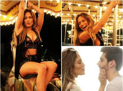 Zobacz unikatowe zdjęcia z nowego teledysku Jennifer Lopez