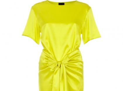 Żółta sukienka - Rihanna dla River Island
