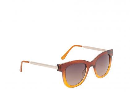 Żółto-brązowe okulary Parfois