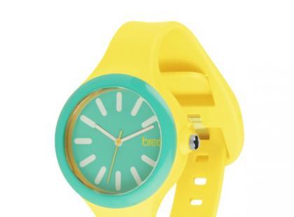 Żółto-zielony zegarek - Breo