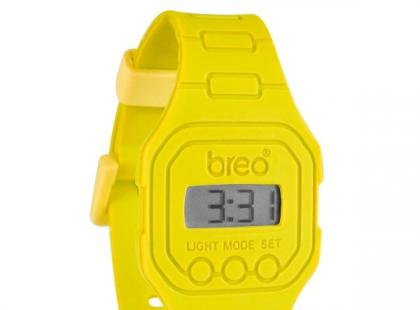 Żółty zegarek - Breo