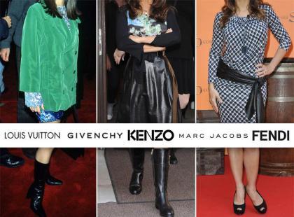 Żona właściciela Vuitton, Fendi i innych top marek nie umie się ubrać