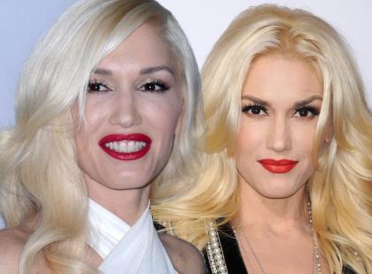 Zoom na makijaż Gwen Stefani