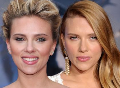 Zoom na makijaż Scarlett Johansson