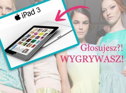Została tylko godzina - Głosuj i wygraj iPada3!