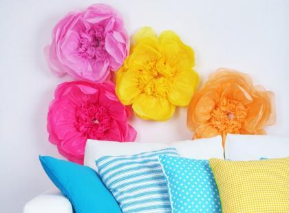 Zrób to sama: tiulowe kwiaty