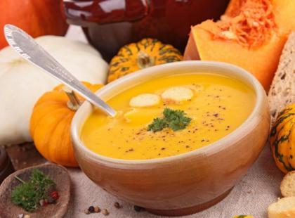 Zupa-krem z dyni na ostro - przepis