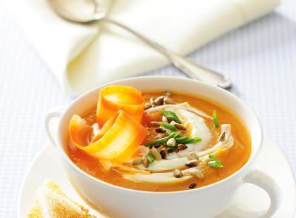 Zupa marchewkowa - danie dla dzieci