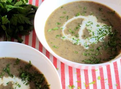 Zupa pieczarkowa - Kasia gotuje z Polki.pl