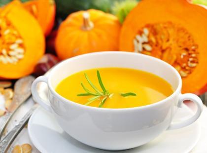 Zupa pikantna z dyni
