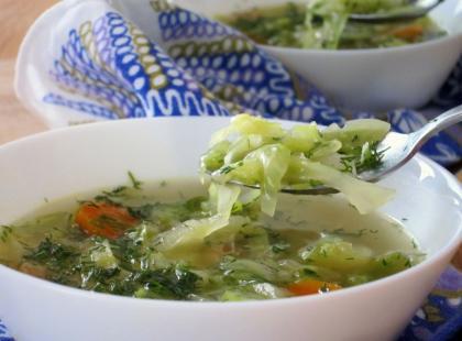 Zupa z kapusty - Kasia gotuje z Polki.pl