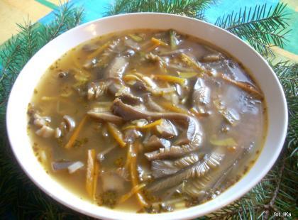 Zupy grzybowe