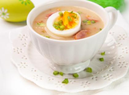 Żurek, barszcz biały i inne zupy wielkanocne