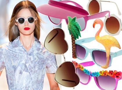 Zwariowane modele okularów na lato 2013