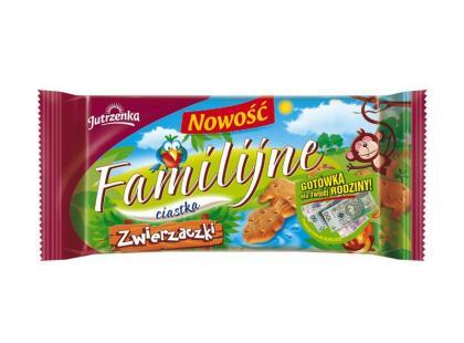 Zwierzaczki marki Familijne - nowe herbatniki dla Twojego dziecka!