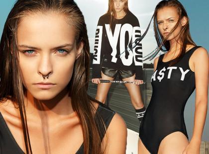 Zwyciężczyni Top Model w kampanii polskiej marki
