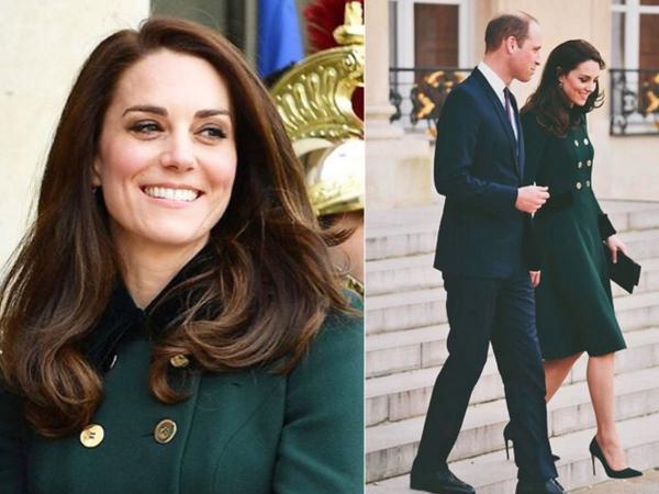 Księżna Kate... z kopertówką polskiej marki! Zrobiła reklamę malutkiej firmie z Poznania