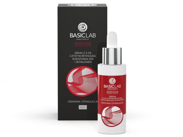 Serum z retinolem Basiclab opinie
