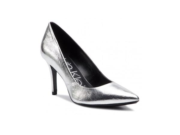 Srebrne szpilki, Calvin Klein, cena: 629,00 zł
