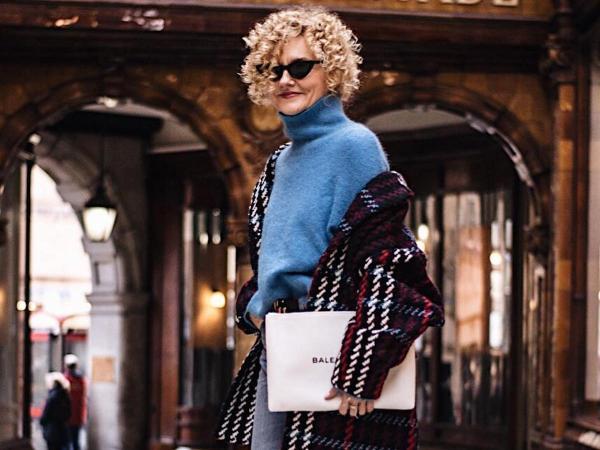 Ta blogerka modowa jest po 50-tce, ale stylu może jej spokojnie zazdrościć Maffashion