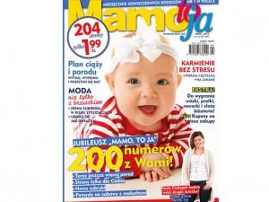 """200-tne wydanie miesięcznika """"Mamo To Ja"""""""