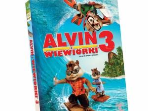 Alvin i wiewiórki 3 - książka z filmem