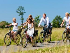 Bezpieczeństwo dziecka podczas nauki  jazdy na rowerze