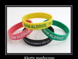 Bezpłatne opaski dla alergików