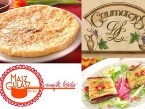 Bistro Masz Gulasz i Restauracja gruzińska Gaumarjos razem w Bistro Masz Gulasz