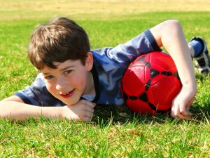 By sport służył zdrowiu dziecka...