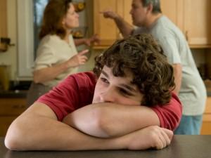 Co robić, gdy rodzice się kłócą?