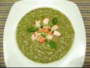 Czy wiesz jak zrobić zieloną zupę ze śmietaną?