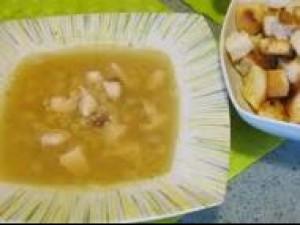 Czy wiesz jak zrobić zupę grochową na sodzie?