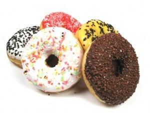 Donaty (doughnuts) - przysmak kuchni amerykańskiej