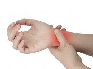 Ganglion - bolesny guzek na nadgarstku