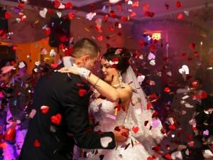 Taniec wesele para młoda