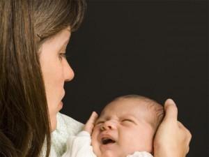 Gdy niemowlę cierpi na wzdęcia