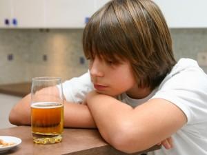 Gdy rodzic pije alkohol...