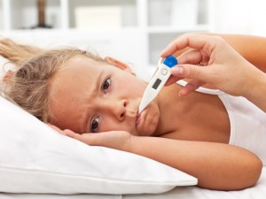 Gorączka u dziecka - co robić?