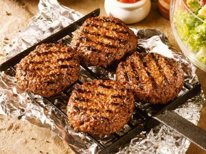 Hamburgery wołowe z grilla